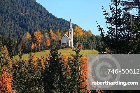 Landscape, Val Ridanna, Trentino Alto Adige, Italy, Europe