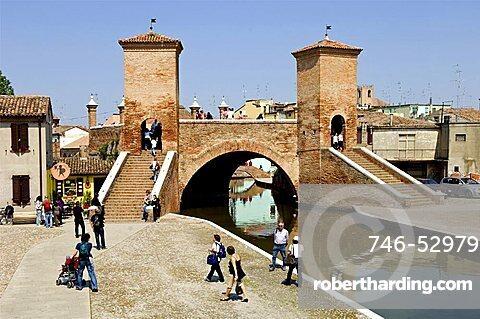 Trepponti, Po delta, Emilia Romagna, Italy