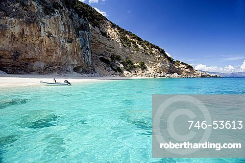 Spiaggia dei gabbiani, Baunei, Sardinia, Italy