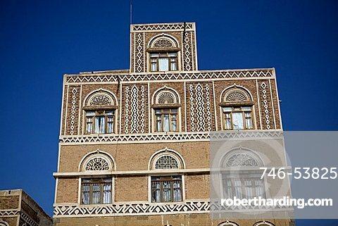 Architecture, Sana'a, Yemen, Middle East