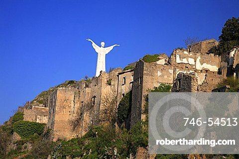 Christ the Redeemer statue, Mount San Biagio,  Maratea, Basilicata, Italy