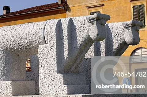 Memorie di Pietrasanta, Pietro Cascella sculptor, Pietrasanta, Tuscany, Italy