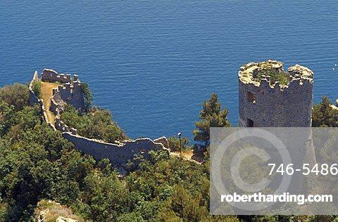 Ziro's tower, Amalfi, Campania, Italy