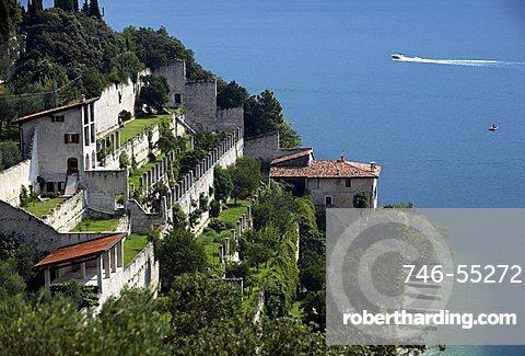 Reamol limonaia, Garda lake, Alto Garda Bresciano park, Lombardy, Italy