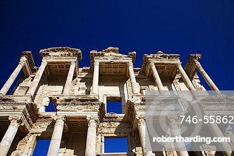 The Library of Celsus, Ephesus, Kusadasi, Turkey, Europe