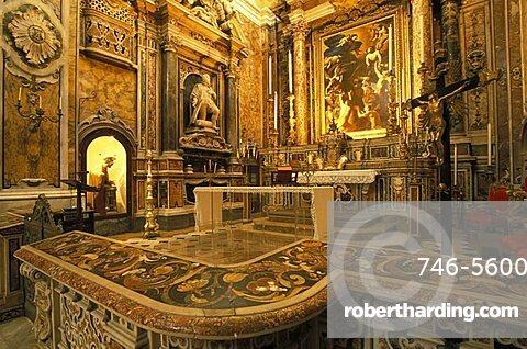 Santa maria delle anime del Purgatorio church, XVII century, Naples, Campania, Italy