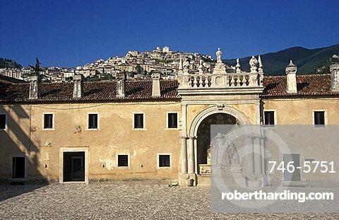 Certosa di San Lorenzo, Padula, Campania, Italy.