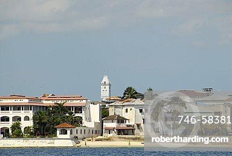 Cityscape, Stone Town, Zanzibar, United Republic of Tanzania, Africa