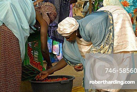 Market, Republic of Senegal, Africa