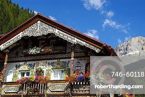 Canazei,  Fassa Valley, Trento Province, Trentino, Italy