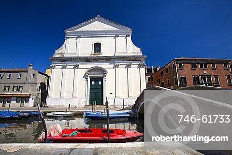 Church Maria Santissima, Chioggia, Veneto, Italy