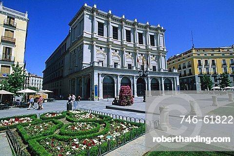 Teatro Real, Madrid, Spain, Europe