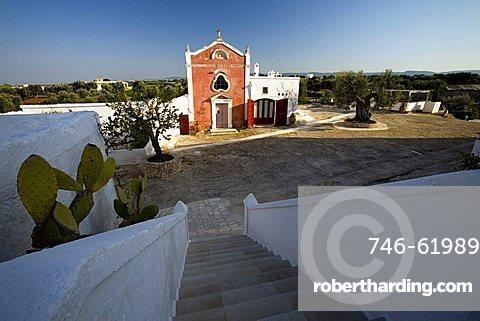 Little church, Masseria Torre Coccaro, Fasano, Puglia, Italy