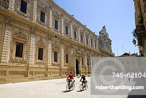 Government Palace (Seat of the Province), Lecce, Puglia, Italy