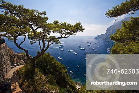 seaside, Capri Island, Naples, Campania, Italy, Europe