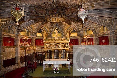 the Chatedral La Seu, Barcelona, Spain, Europe