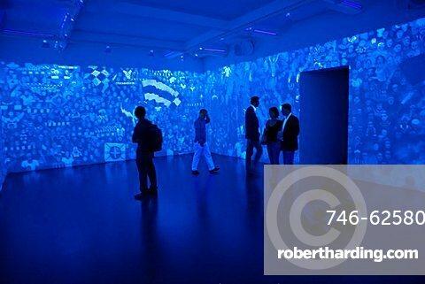 Rain Theorem, work of Aleksej Kallima, Russian pavillion, 53rd Biennial Exhibition of Modern Art, Venice, Veneto, Italy