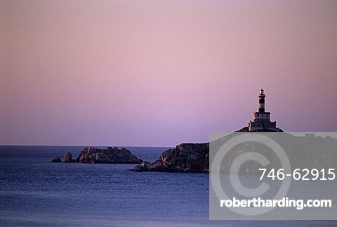 Lighthouse, Capo Carbonara, Sardinia, Italy