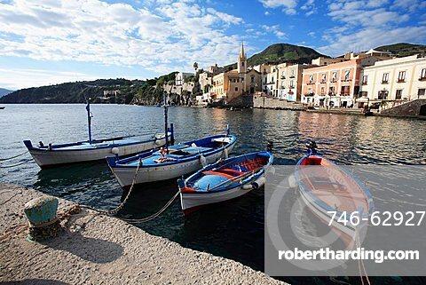 Foreshortening, Lipari island, Aeolian Islands, Sicily, Italy
