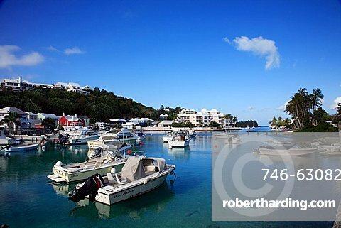 Harbour, Flatts Village, Smiths Parish, Bermuda, Atlantic Ocean, Central America