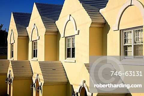 Typical houses, Bermuda, Atlantic Ocean, Central America