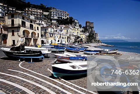 Seaside, Cetara, Campania, Italy