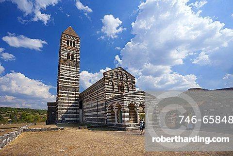 The Basilica della Santissima Trinità di Saccargia, one of the most important romanesque churchs in Sardinia.