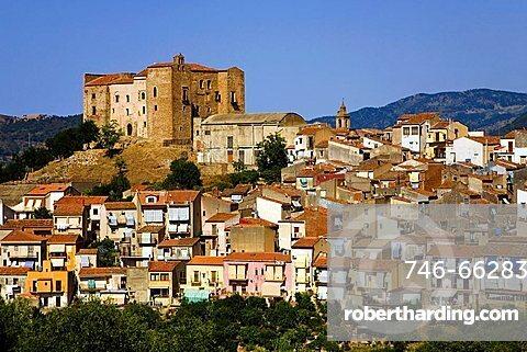 Cityscape, Castelbuono, Sicily, Italy