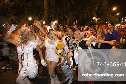 Carnival Parade at Las Palmas, Gran Canaria, Canary Islands, Spain, Europe