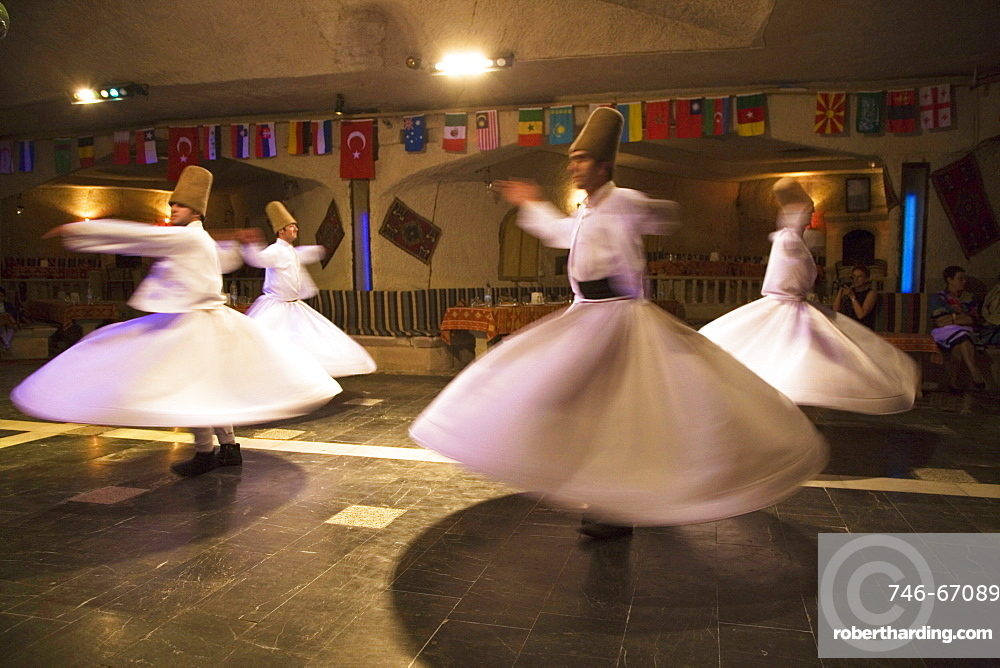 Whirling Darvishes Ceremony, Cappadocia, Turkey, Europe