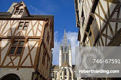 Notre Dame Church, Eglise Notre-Dame, Dijon, Burgundy, France, Europe