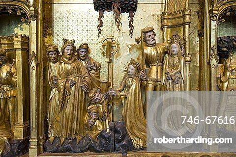 Retable des Saints et Martyrs, Jacques de Baerze, Melchior Broederlam, Fine arts Museum, Place de la Libération, Palais des Ducs et Etats, Dijon, Bourgogne, France, Europe