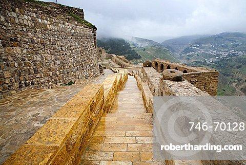 Middle East, Jordan, Karak Castle, the famous Crusader castle