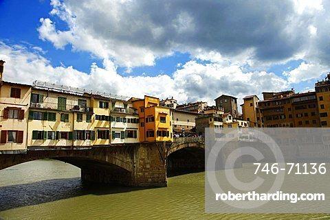 Ponte Vecchio bridge, Florence, Tusacany, Italy, Europe, UNESCO World Heritage Site