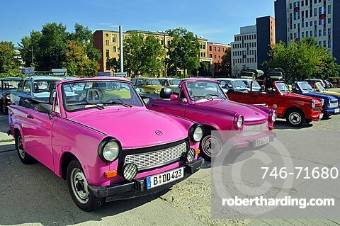 Trabant typical DDR car, Berlin, Germany, Europe