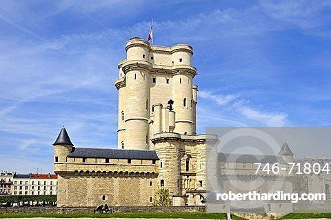 Chateau de Vincennes, Vincennes, Ile-de-France, France, Europe