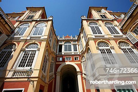 Museo di Palazzo Reale palace museum, Via Balbi, Genoa, Ligury, Italy, Europe