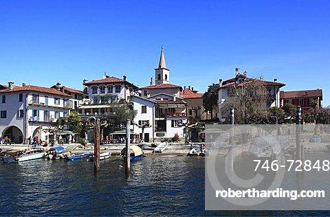 Isola dei Pescatori, Borromean Islands, Lago Maggiore, Piedmont, Italy