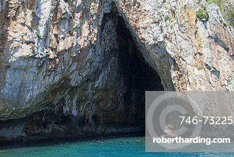 Ciavole cave, Capo Palinuro, Parco Nazionale del Cilento e Vallo di Diano, Campania, Italy