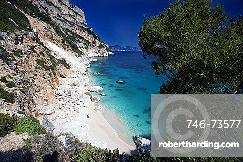 Cala Goloritzè beach, Baunei (OG), Sardinia, Italy, Europe