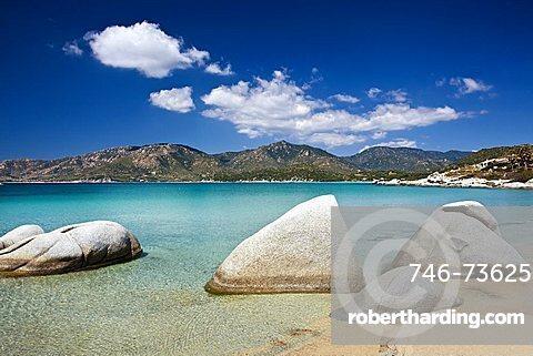 Spiaggia del Riso beach, Villasimius (CA), Sardinia, Italy
