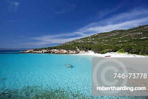 Cala Granara, Isola di Spargi island, Arcipelago della Maddalena, La Maddalena (OT), Sardinia, Italy, Europe