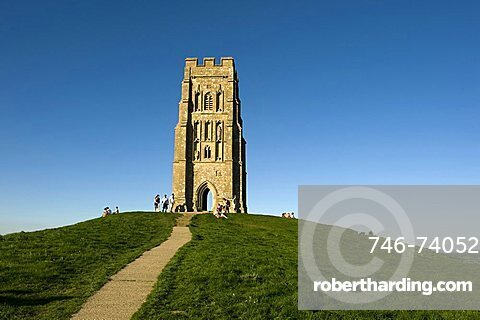 Tor, Glastonbury, Somerset, England, United Kingdom, Europe