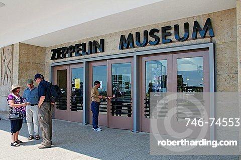 Zeppelin Museum, Friedrichshafen, Baden-Württemberg, Germany, Europe