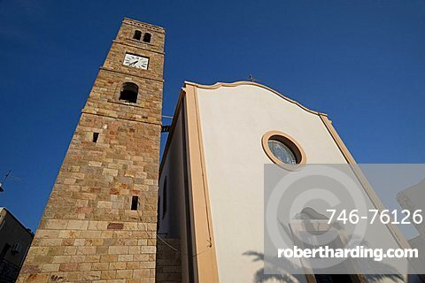 Santa Maria d'Itria Church, Portoscuso, Provincia di Carbonia e Iglesias, Sardinia, Italy