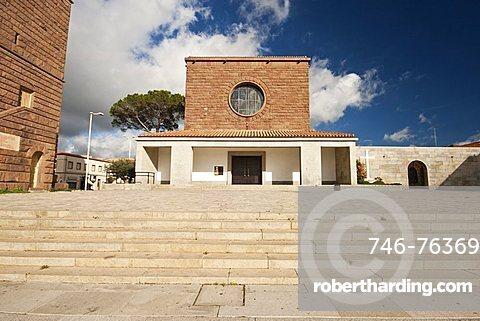 San Ponziano Church, Carbonia, Sardinia, Italy, Europe