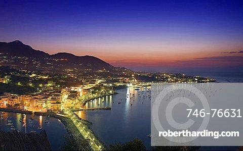 Ischia Porto, Ischia island, Neaples, Campania, Italy, Europe