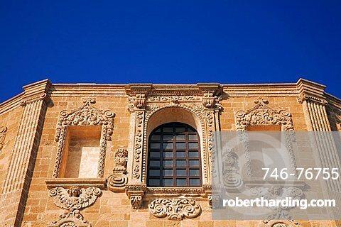 Chiesa del Rosario church, Gallipoli, Apulia, Italy, Europe