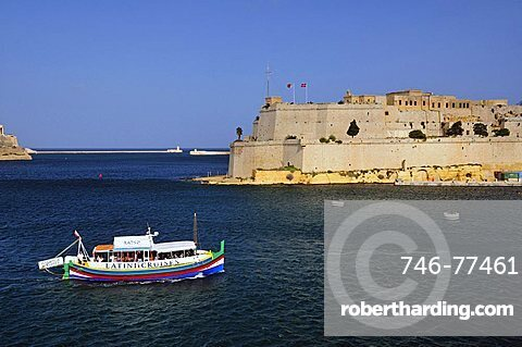 Fort Sant' Angelo, Vittoriosa. Malta. Europe.