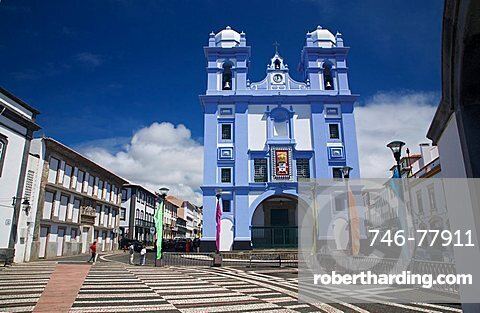 Misericordia church of Angra do Heroismo, Terceira, Azores Island, Portugal, Europe